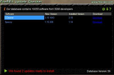 Aggiornare Software e applicazioni presenti nel PC con FileREX