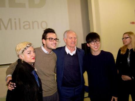 Santo Versace Meets IED Milan Fashion Students