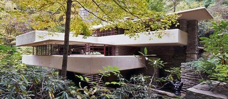 Frank lloyd wrighte la sua casa sulla cascata paperblog for Una storia di casa piani di log