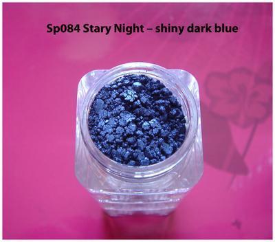 Sp084 Stary Night - shiny dark blue