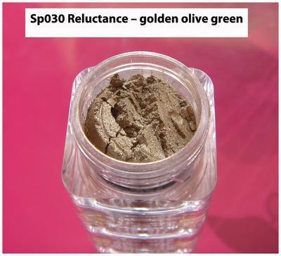 Sp030 Reluctance - golden olive green