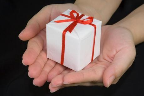 THIS IS A PRESENT FOR YOU, CHARLIE