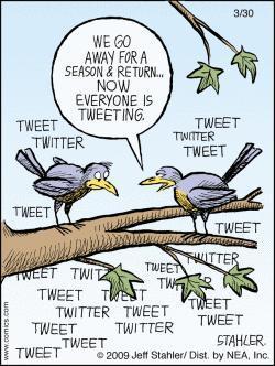 #perchétwitter (di cinguettii, fumetti e vanagloria)