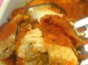 Lasagnette persico melanzane