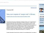 "Flavio Cattaneo: Terna, nuovo impianto ""energia verde"" Olevano"