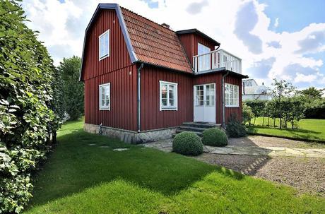 Stile nordico in svezia una casa sulla baia paperblog for Costruire una casa in stile cottage