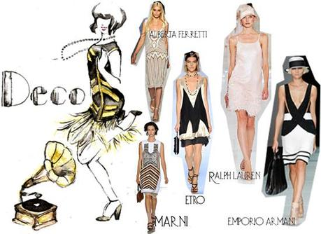 The fashion illustrated. s/s trends: 20′s.