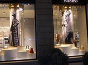 Valentino inaugurazione boutique Milano