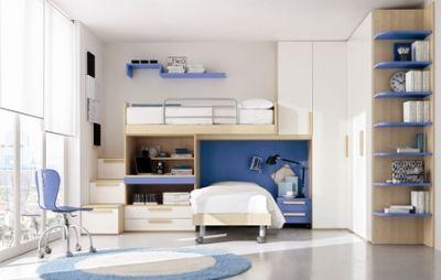 Camerette design per un arredo divertente paperblog - Colori pareti camerette per bambini ...