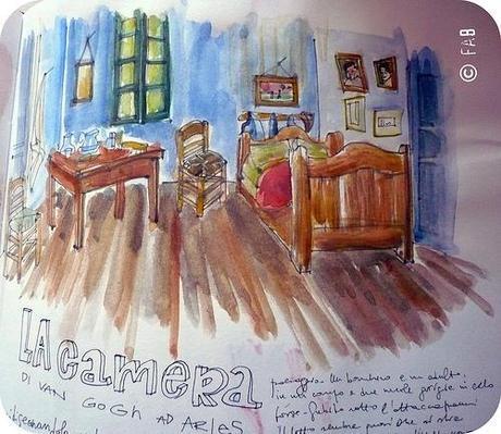 La stanza di van gogh paperblog - La camera da letto van gogh ...