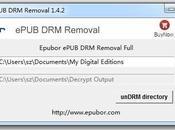 Eliminare protezione dagli ebook ePub Removal