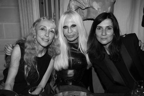new york 4b108 adf0d Tutti a cena da Donatella Versace alla #mfw 2012 - Paperblog