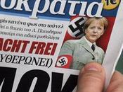 """Grecia, Merkel: """"Hitler, nazismo Terzo Reich"""""""