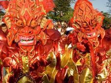 Occhio diablos Carnevale Vega