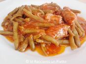 Fagiolini umido salsiccia