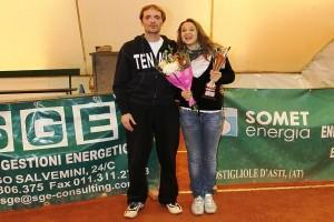 Giulia Pairone, Under16 di tennis che sa stupire