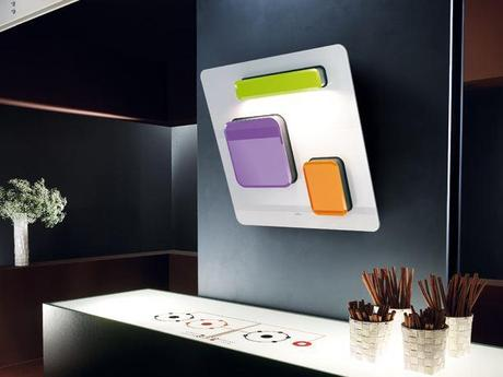 Cappa cucina design FEEL by Elica - Paperblog