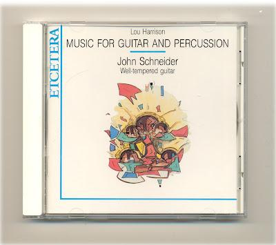 Guitars Speak: Lou Harrison: Music for Guitars and percussion