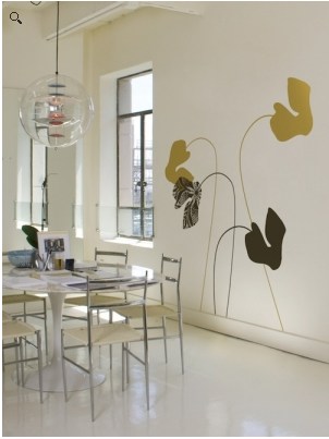 Stickers murali per dar vita alle vostre pareti paperblog for Disegni da applicare alle pareti