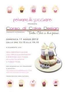 Corso cake design la torta a due piani tres chic paperblog for Design a due piani