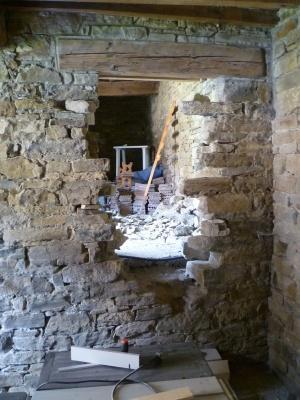Pietra su pietra paperblog - Apertura porta in muro portante ...