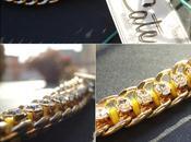 Trend closet Catene, strass cotone bracciali Cate.