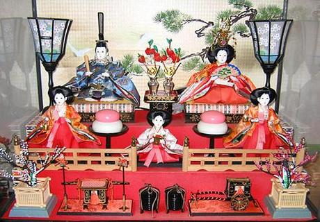 Feste Giapponesi: Hinamatsuri la festa delle bambole