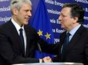 """dell'UE alla candidatura della Serbia. presidente Tadic: """"Grande passo, epocale"""""""