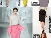 Trend report: peplum skirt
