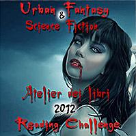 Recap Urban Fantasy & Paranormal Romance Reading Challenge 2012