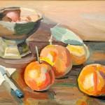 Frutta sullo scrittoio