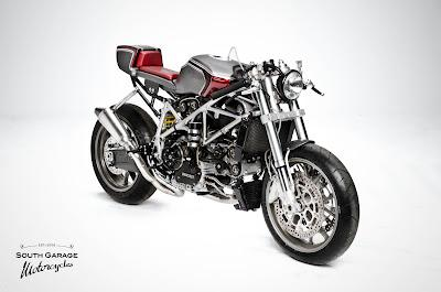 Ducati 749 by South Garage Cafè