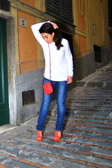followpix for ANDREA MORANDO - coral Prada