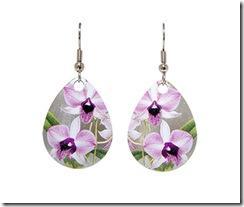 Orecchini con splendide orchidee paperblog - Porta orecchini a libro ...