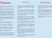 Premio Letterario CAMAIORE 20012 XXIV edizione