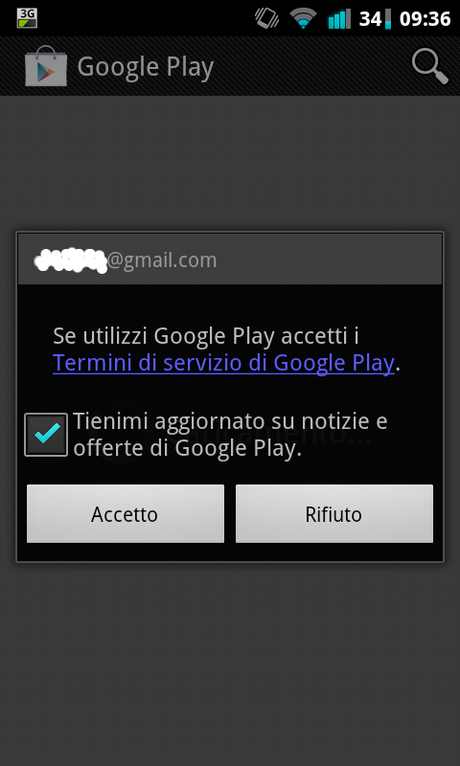 how to upgrade play store