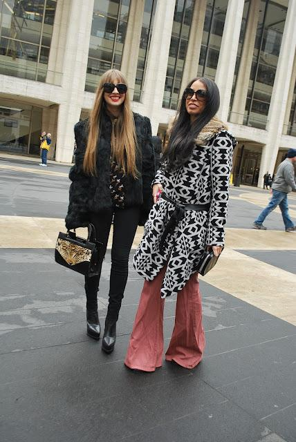 New York Fashion week 2012 Street Style part 9