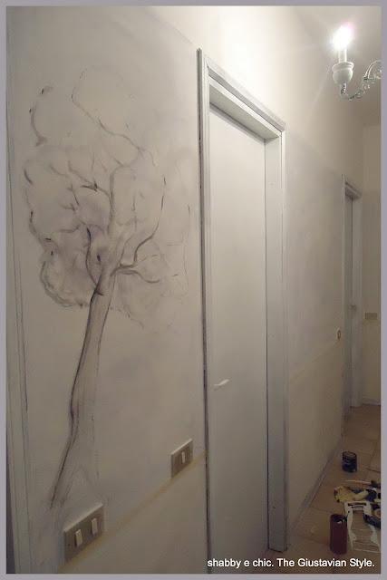 Ricetta come trasformare le porte di casa con un barattolo di colore e un p di nastro carta - Verniciare una porta in legno ...
