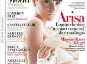 Arisa, splendida, sulla copertina vanity fair