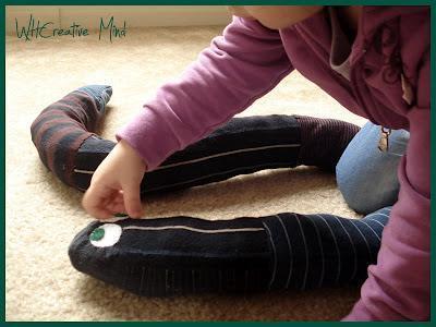 Riciclo creativo: Il serpente paraspifferi