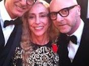 Domenico Dolce Stefano Gabbana all'Elysee Paris