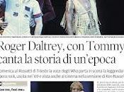 """Roger """"tommy"""" daltrey """"the who"""" trieste"""