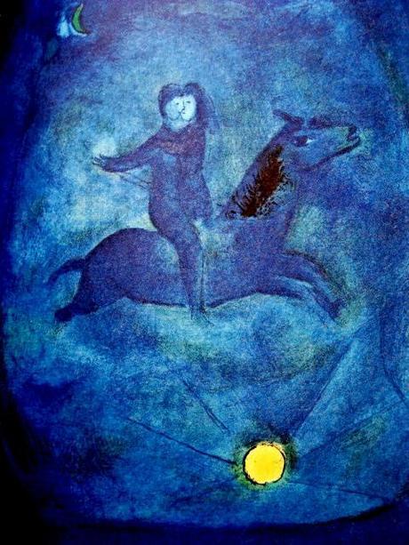 Chagall d'Arabia. Nel blu dipinto di blu
