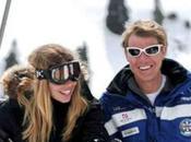 Ilary Blasi: vacanze sulla neve biondino.