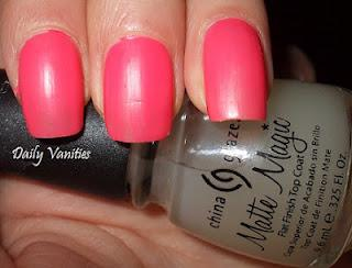GlossyBox di marzo: China Glaze Matte Magic