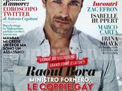 """RAOUL BOVA copertina """"VANITY FAIR"""": COPPIE SONO SERIE"""