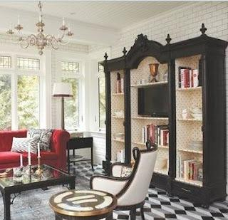 Antico armadio libreria porta tv Atelier myArtistic: ridare vita ai ...