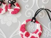 Parure Fiorita fimo primavera! Flowered jewel