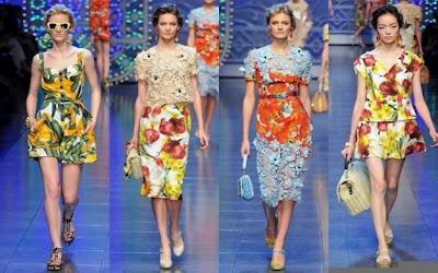 Frutta e verdura non a tavola ma sui capi Dolce   Gabbana - Paperblog 508ab2ec343