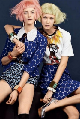 Marni for H&m; x Vogue Russia